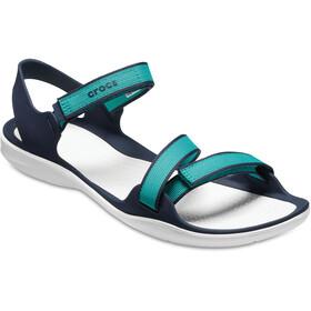 Crocs Swiftwater Webbing Sandals Women Tropical Teal